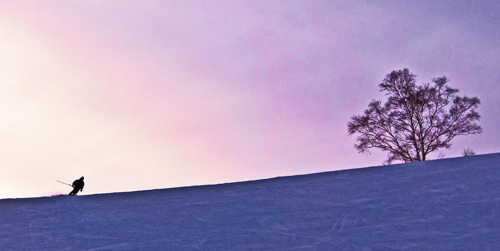 Sunset Skier 3