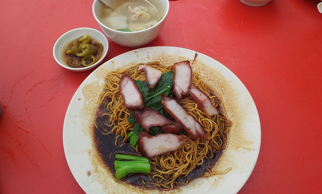 Breakfast Wan Tan Mee At Taman OUG