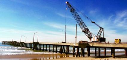 Venice Pier Construction