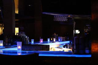 Blue Bar, Blu Que Island Grill, Siesta Key, Sarasota, FL