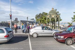 Kuva Queen Victoria Fountain lähellä Dún Laoghaire-Rathdown. ireland dublin europe sony dunlaoghaire dublinstreets streetsofdublin infomatique nex7