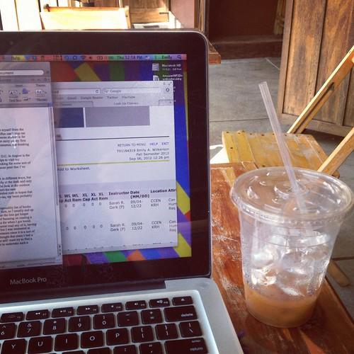writing in slow train