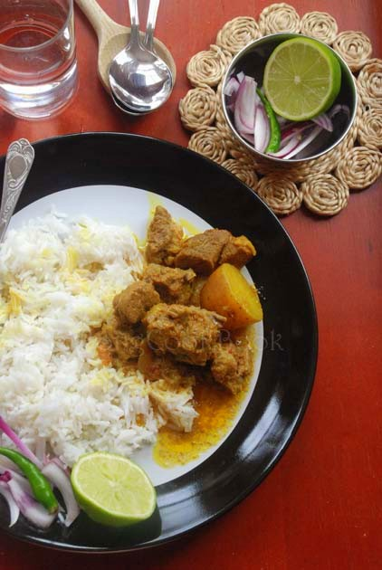 Pathar Mangshor Jhol, Bengali Mutton Curry