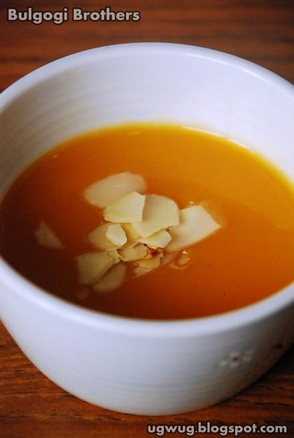 Hobak Juk - Pumpkin Soup