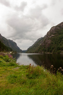 Fjord along E39 Rogaland