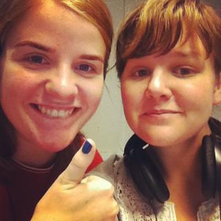 Morgonvågen med Elin och Alice ( @beefninja ) ! Fett!