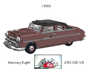 Mercury Eight - 1950