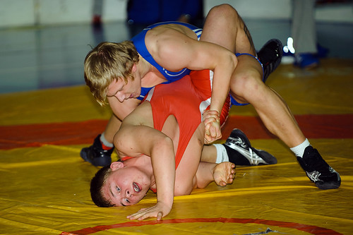 Wrestling by Lars Rollkragen