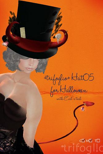 +trifoglio+ hat05 Halloween by +trifoglio+