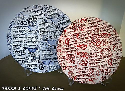 Pratos Passarinho by cris couto 73