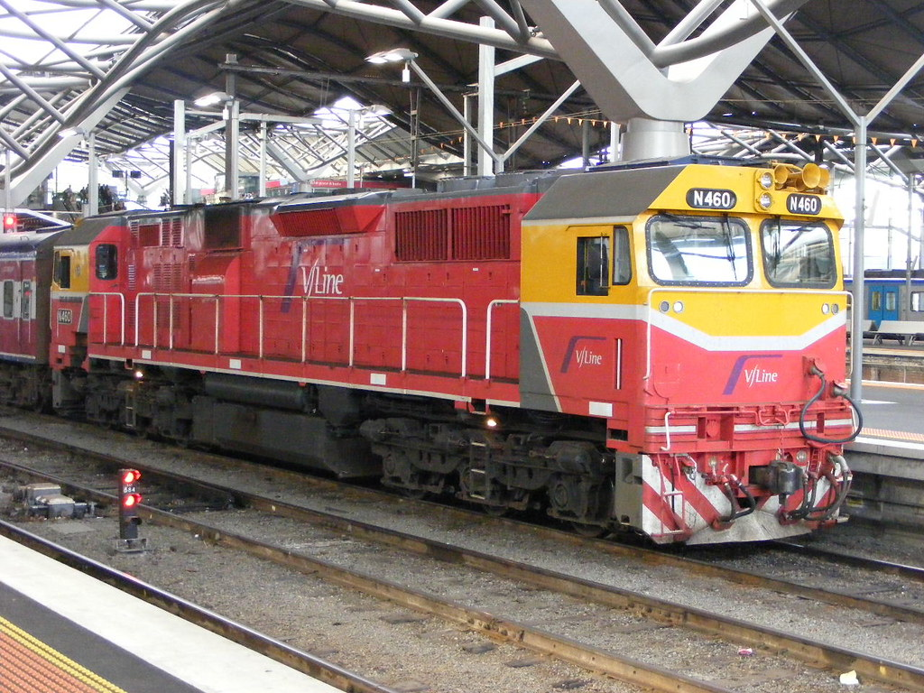 V Line N460 Southern Cross 03.03.10 by Andy Cole