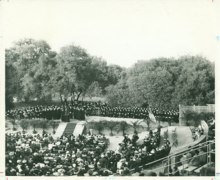 Pomona College Commencement in 1942