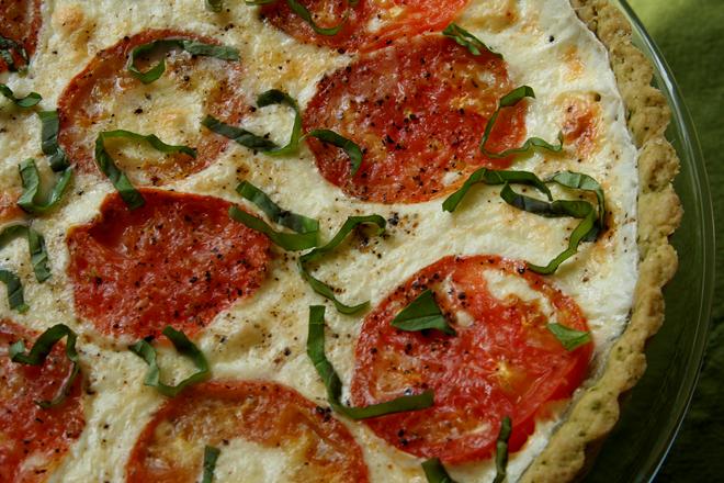 tomato basil tart 5
