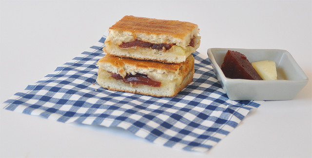 Manchego and Guava Paste Grilled Cheese
