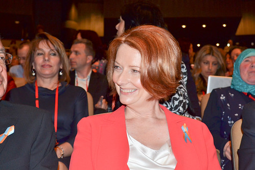 Labor Party Conference 2011 - Julia Gillard