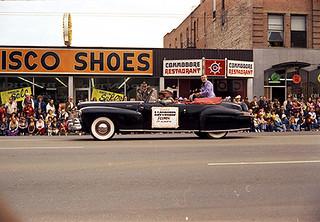 1973 Klondike Days Parade, Edmonton.