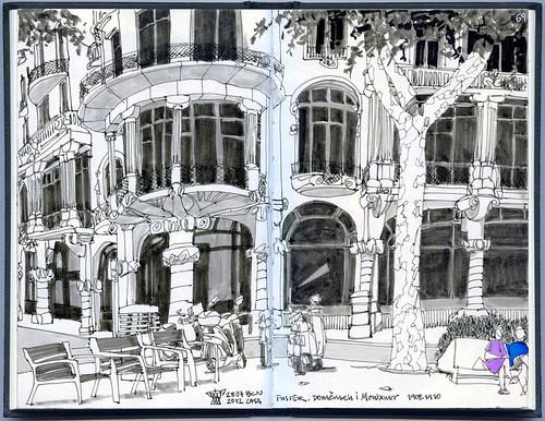 Evening-Sketchcrawl #1