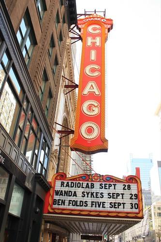 Chicago Theatre District - Illinois