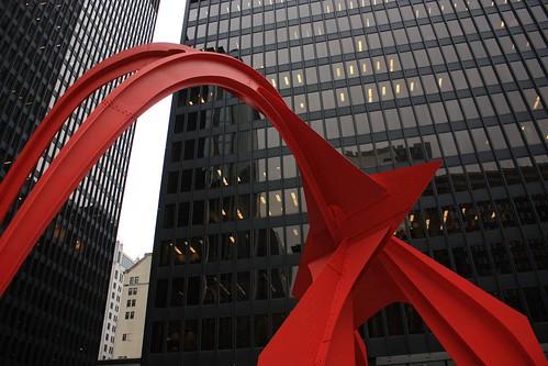 Chicago Flaming by Alexander Calder