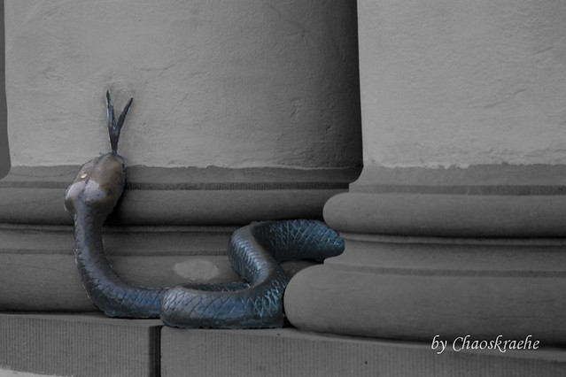 Snake on the Guildhall