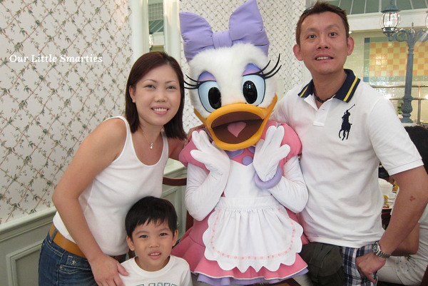 All of us with the pretty Daisy Duck