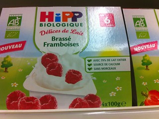 Délices de lait de chez Hipp