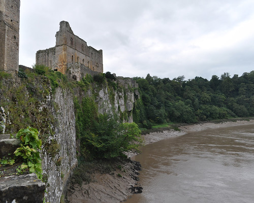 Chepstow Castle above the Wye