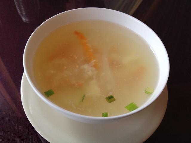 Egg drop soup - Thai Lotus