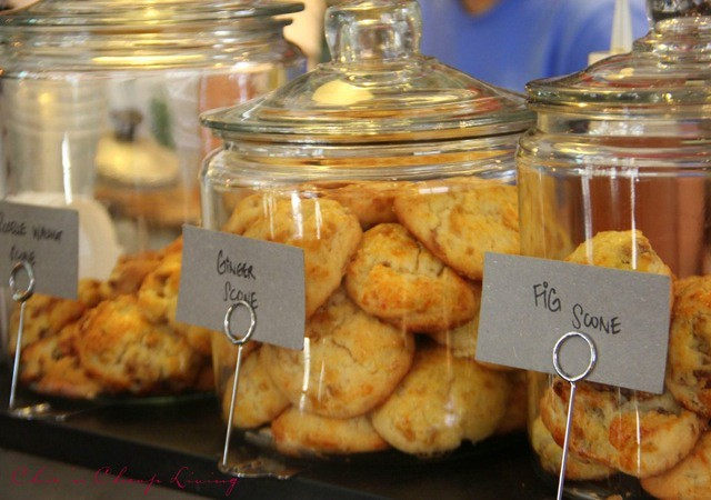 Teakha scones by Chic n Cheap Living
