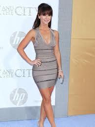 Jennifer Love Hewitt Bandage Dress Herve Leger Celebrity Style Women's Fashion