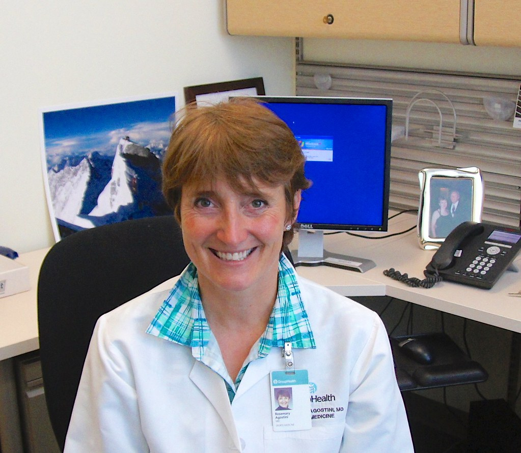 Reaching people through the language of sports: shadowing Rosemary Agostini, MD, Group Health Cooperative