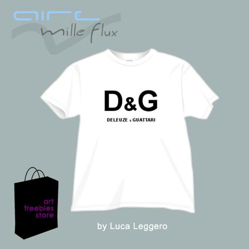 Tee shirt Deleuze et Guattari