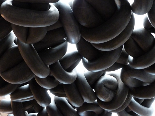 inner tube sculpture 2