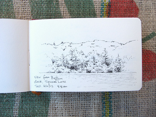 Squam Lake Sketch_8