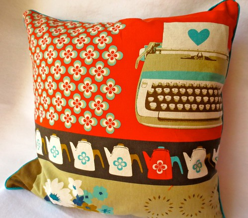 Mid Century Modern Christmas Pillows : Just Crafty Enough ? Mid Century Pillow