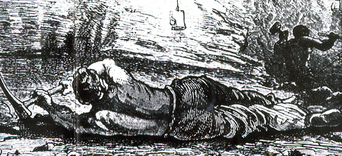 C918-0170 Illustration, Convict miner