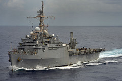 USS Denver (LPD 9) file photo. (U.S. Navy/MCSN  Lacordrick Wilson)