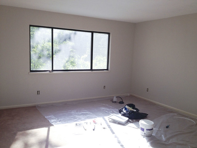 Master Bedroom Painting Day 1
