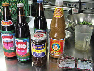 Chinese Soy sauces for class at New School of Cooking