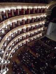 Royal San Carlo Theatre in Naples - Founded in 1737 - Interior 1817, architect Antonio Niccolini