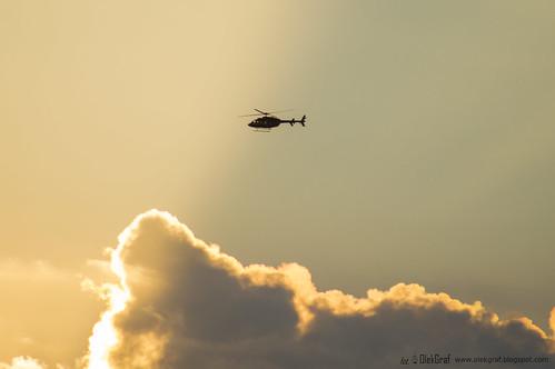 sunset helicopter outdoor sky clouds yellow olekgraf olek fotograf kielce poland nikon nikonflickraward d3200 sigma manfrotto flickrtravelaward