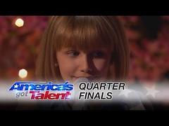 """Grace VanderWaal: 12-Year-Old Sensation Sings Original """"Beautiful Thing"""" - America's Got Talent 2016"""