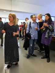 Fotokunsti näituse avamine Aparaaditehases