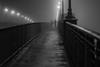 Couple sur un pont