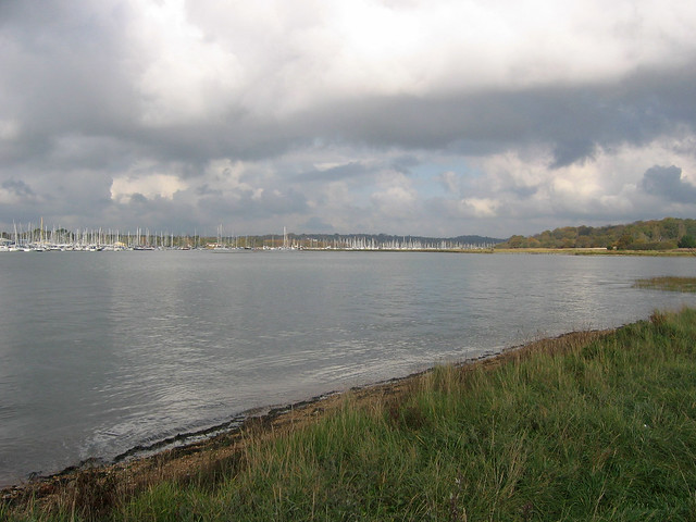 The River Hamble at Warsash