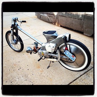 Honda Cub done right by Half Fast Timmy...