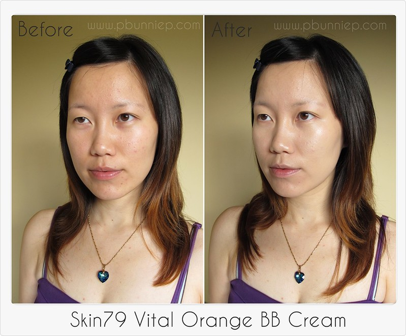 Skin79 Vital Orange BB Cream-Swatch3