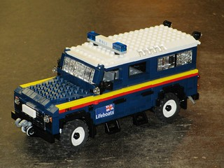 RNLI Land Rover Defender (1)