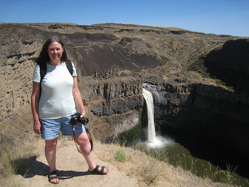 Overlooking Palouse Falls