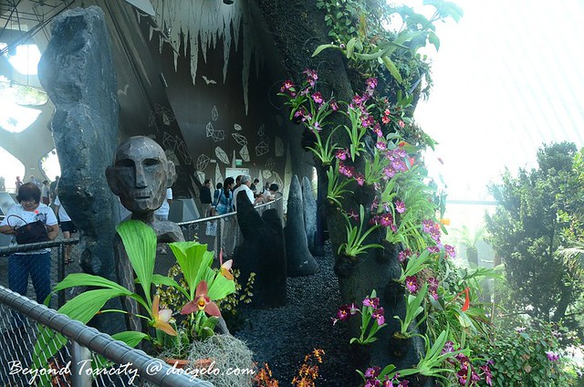 anito in cloud forest, gardens by the bay